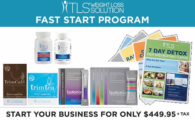 The TLS Weight Loss Solution Fast Start Kit